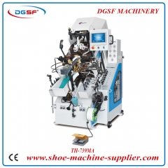 Computerized Automatic Cement Shoe Toe Lasting Machine