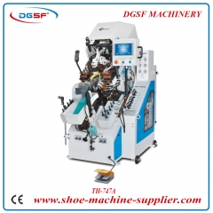 9 Pincers Memory Automatic Shoe Toe Lasting Machine