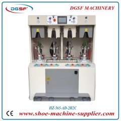 PLC double cold and double hot sweeping type counter moulding machine